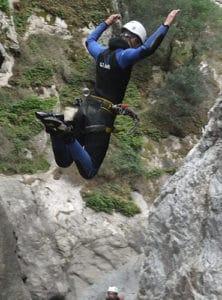 Saut au Canyon Le Llech