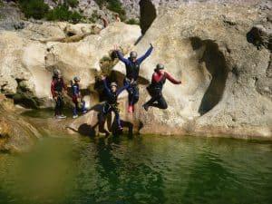 Initiation au canyoning dans les gorges de Galamus
