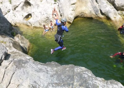 Initiation Saut au Galamus Sensation garanties