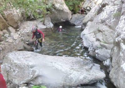 Canyoning en famille ou entre amis dans le vallespir.