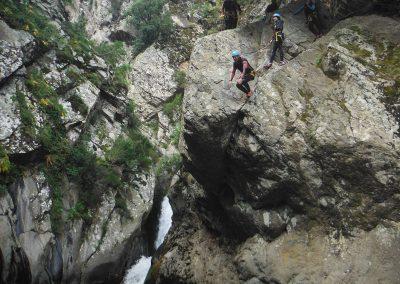 Sortie Canyonau LLECH. Sensations assurées Pyrénées ORientales