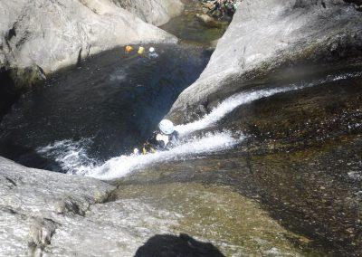 Canyon du Llech - Descente Toboggan