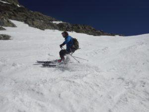 Le ski de randonnée dans les pyrénées-Orientales.