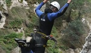 Saut Llech Canyoning Pyrnées Orientales